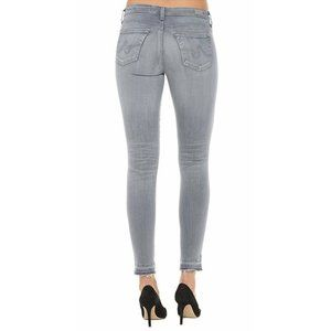 NEW AG Legging Ankle 3 Years Cool Grey Distressed